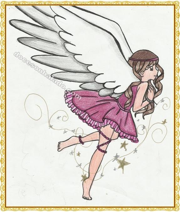 Anjo estrelas