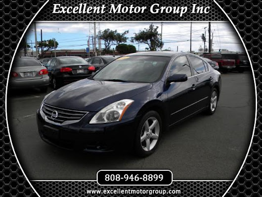 Used 2012 Nissan Altima 2.5 for Sale in Honolulu HI 96817 Excellent Motor Group Inc