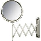 Jerdon 7X 8-inch 2-Sided Swivel Wall Mount Extension Mirror
