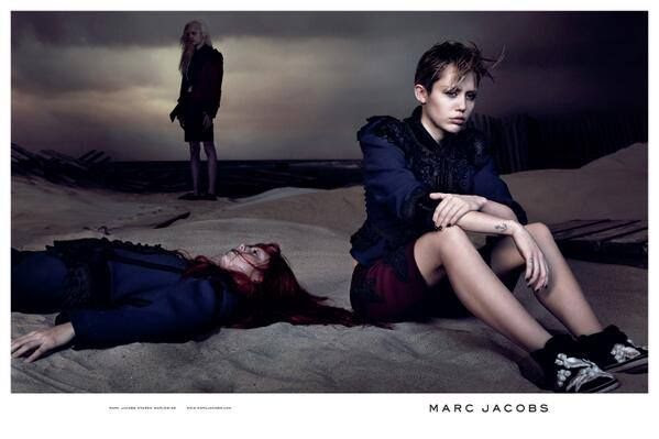 Miley Cyrus imagen de Marc Jacobs SS14