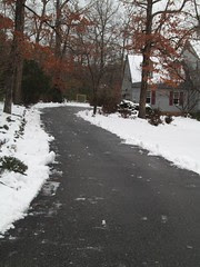 clean driveway by Teckelcar