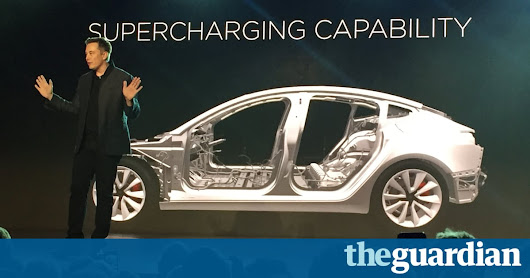 Sparks fly on Wall Street over Tesla's current valuation | Business | The Guardian