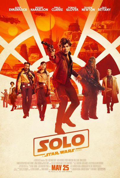 The final theatrical poster for SOLO: A STAR WARS STORY.