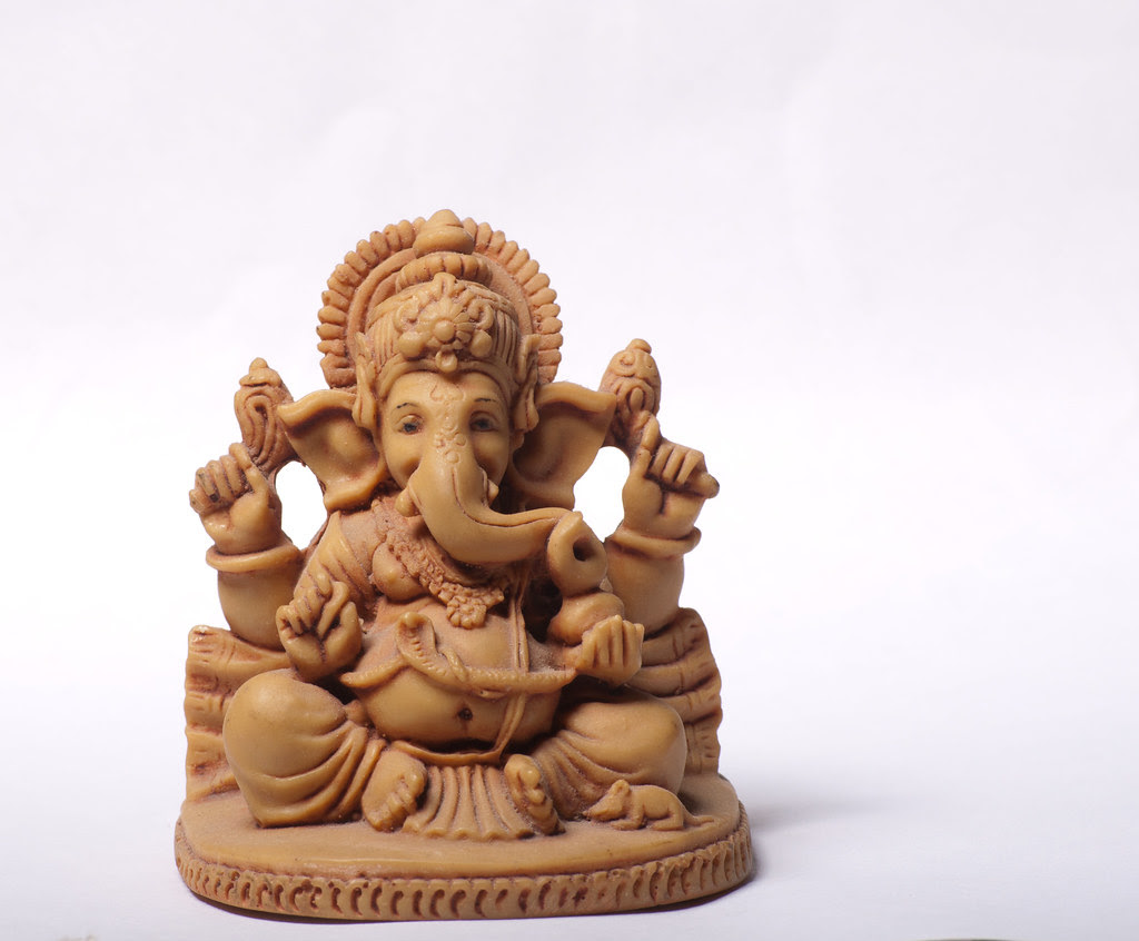Ganesha with with Background