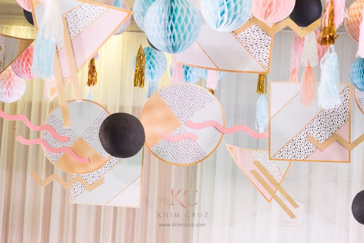 "Joanne's ""Memphis Design"" Inspired Party – 1st Birthday 