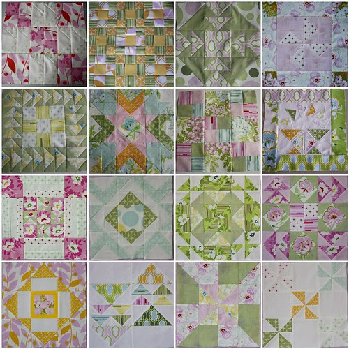 Blocks 1-16 mosaic