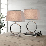 TMI LLC. 2000272 Halo Metal Table Lamp 2-Pack