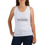 My Bishop was charged! Women's Tank Top