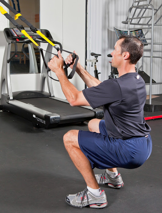 TRX Suspension Trainer Squat - Sean Cochran Sports Performance Training