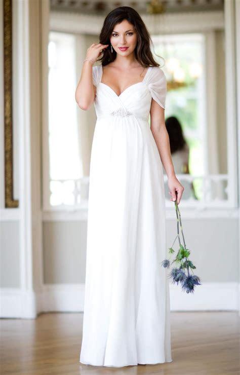 Silk Sophia Maternity Wedding Gown (Ivory)   Maternity