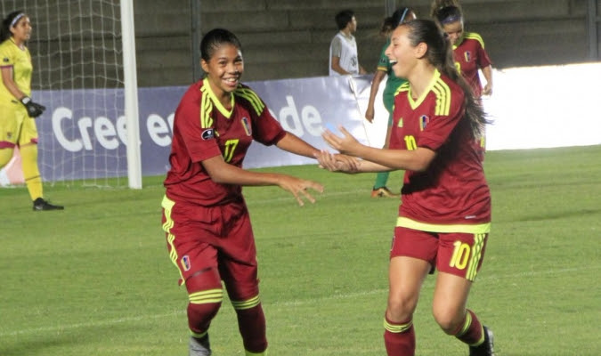 Las chicas sub17 avanzaron al cuadrangular final / Cortesía @FemeninoFVF