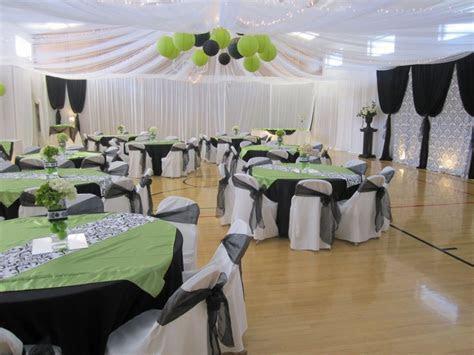 Mississippi wedding Church gym wedding reception ceiling