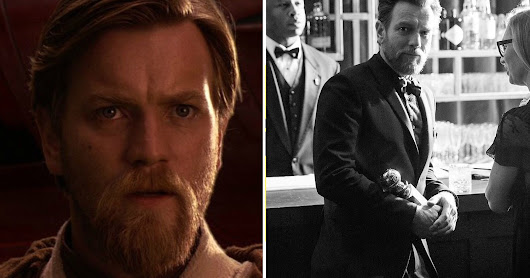 Ewan McGregor Showed Up To The Golden Globes With An Obi-Wan Kenobi Beard And People Had Questions