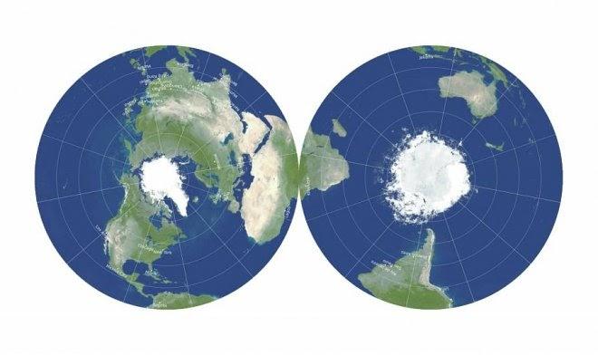 Ученые создали самую точную 2D-карту Земли в истории