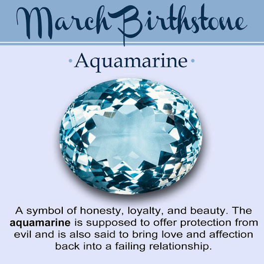 Birthstone for March:Meaning, Color and Jewelry