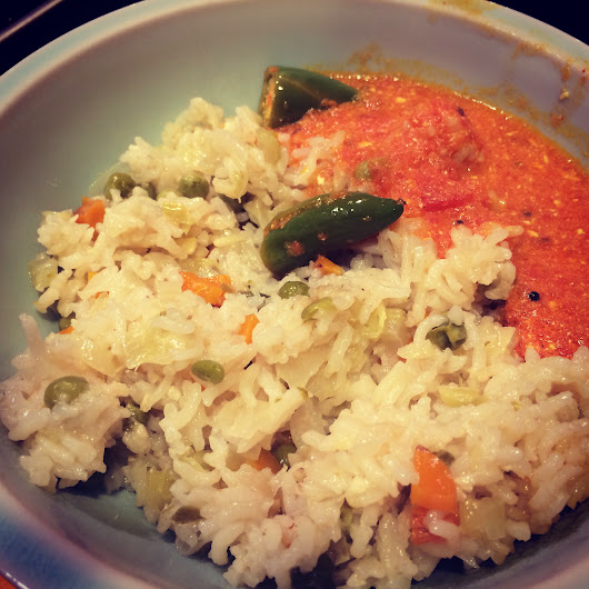 Idiot-proof vegetable pulao
