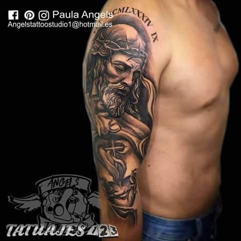 Jesucristo Tatuaje Frasesparatatuajesclub