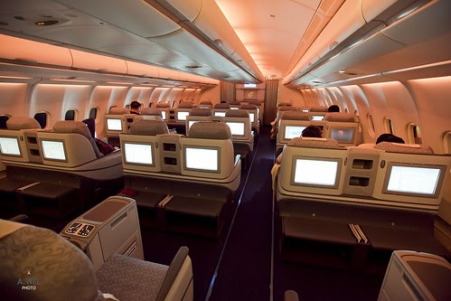 Travelrewards Air China Airbus A333 Business Class Cabin