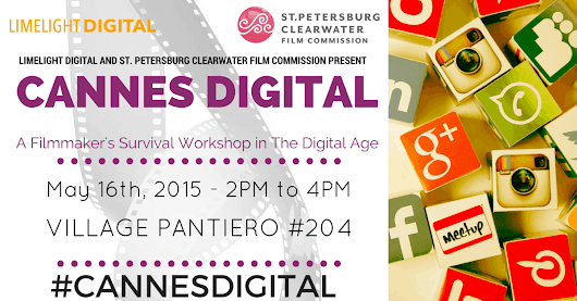 Cannes Digital 2016 Filmmakers Workshop at St. Petersburg Pavilion