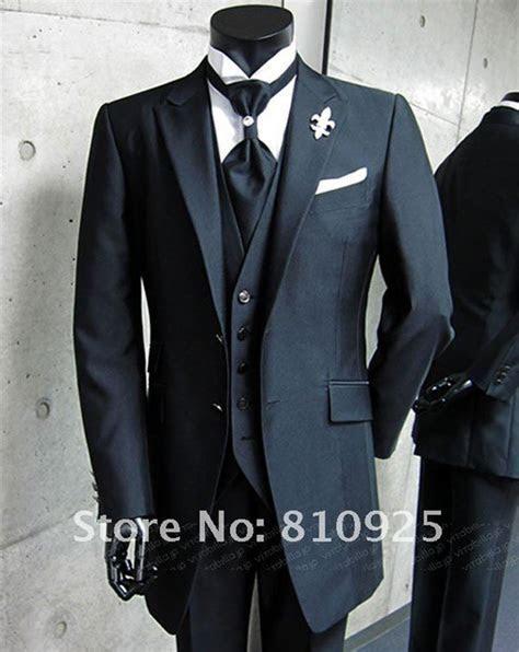 Bespoke Black Wedding Suit   WedDirect   Discount Wedding