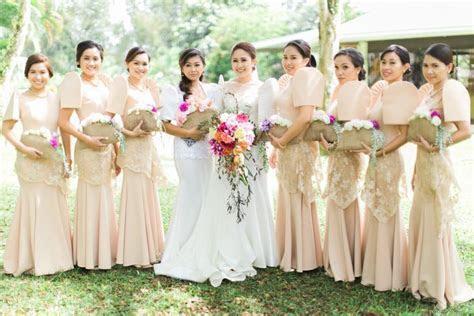 Bridal entourage #filipiniana #wedding #bridesmaids #