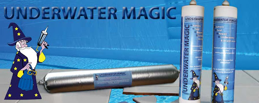Underwater Magic the under water adhesive / glue and sealant for all underwater repairs