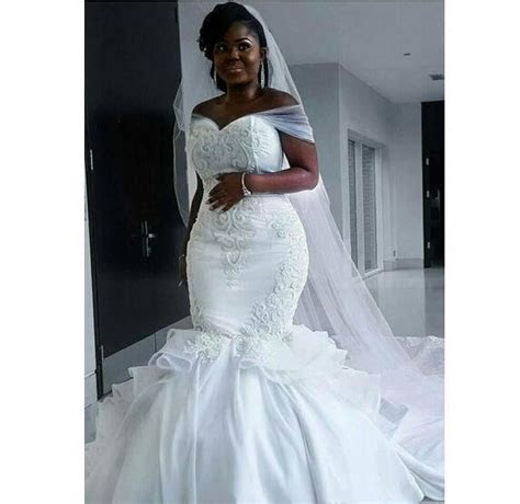 African Plus Size Wedding Dresses Off The   Miss Zhu Bridal