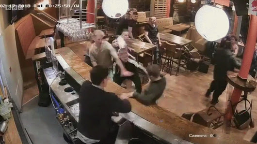 A normal night in an english pub
