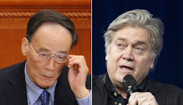 Secret meeting with Bannon adds to speculation over Wang's future