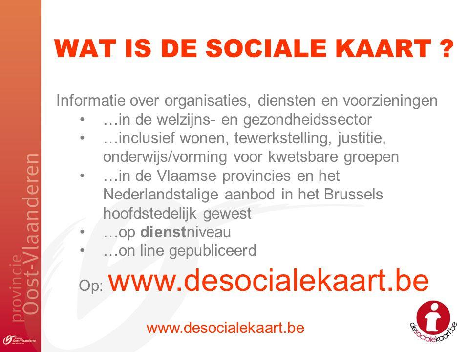 sociale kaart voorbeeld Sociale Kaart Voorbeeld | Kaart
