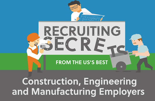 Recruiting Secrets from the US's Best Construction, Engineering and Manufacturing Employers [Infographic]
