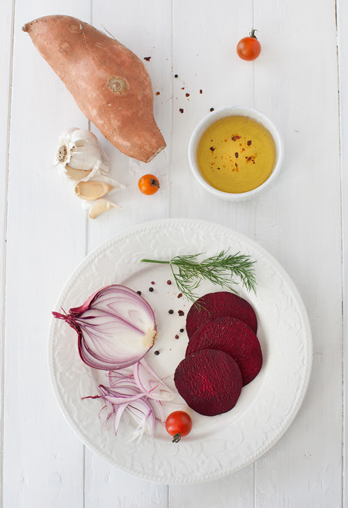 Beet Soup with Meatballs 3