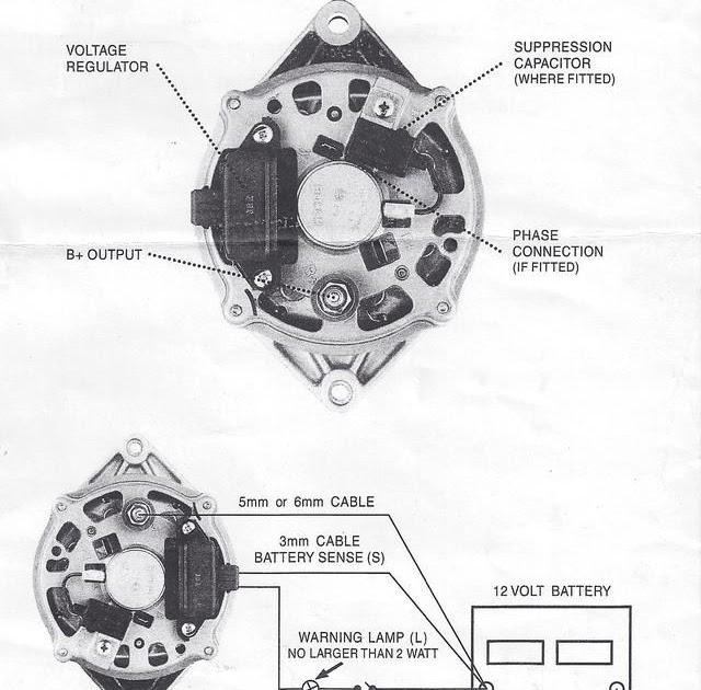 Wiring Diagram For Ford Alternator With Internal Regulator