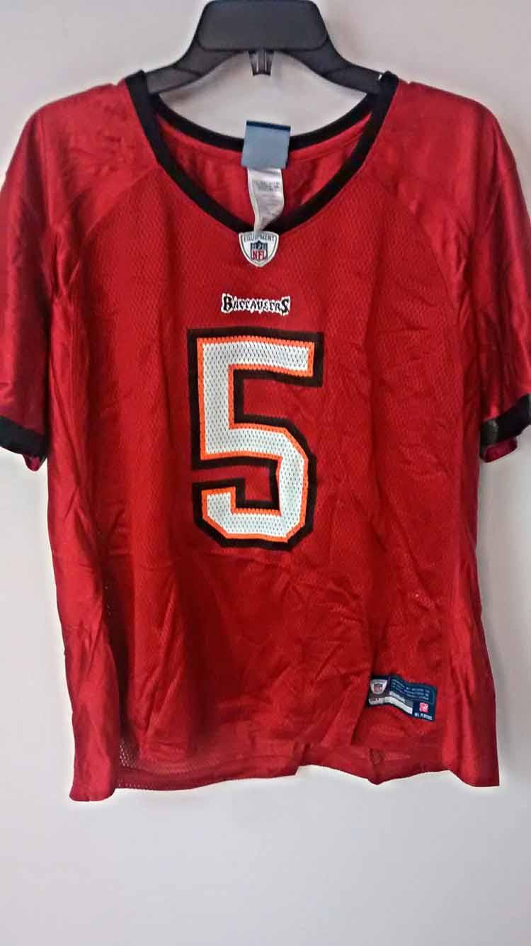 Reebok Womens NFL Jersey Buccaneers Josh Freeman Red sz L  eBay