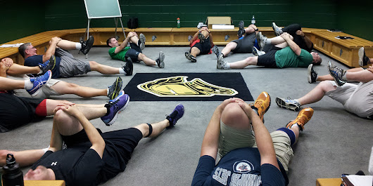 Hockey FIT program shows significant improvements for men's health - Media Relations