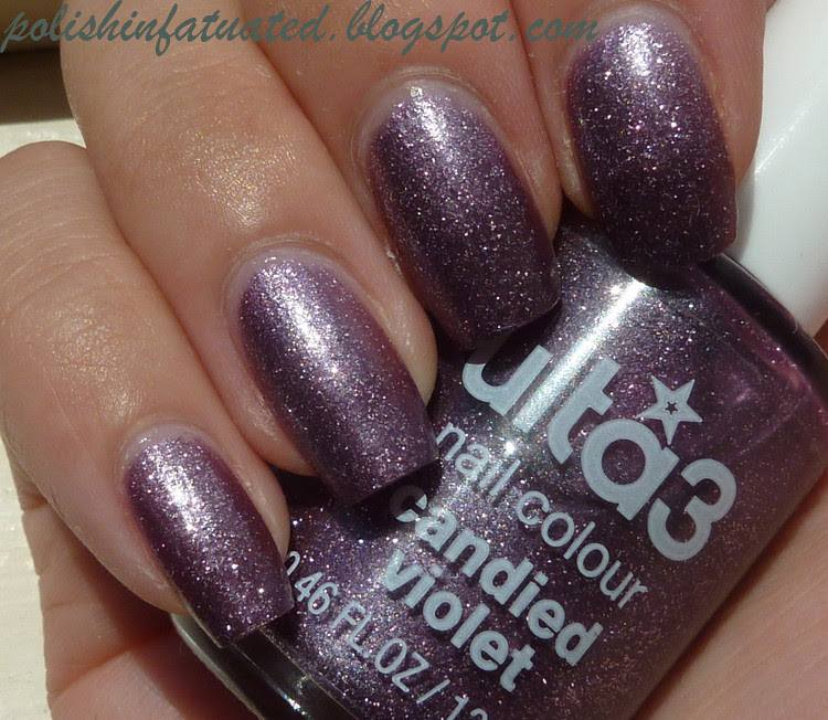 candied violet