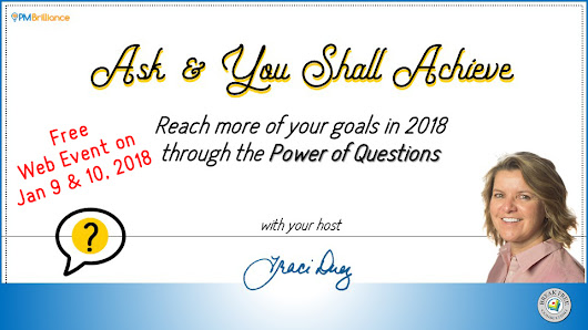 FREE Web Event - Ask & You Shall Achieve in 2018
