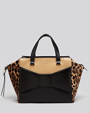 Kate Spade Two Park Avenue Leopard Beau Shopper