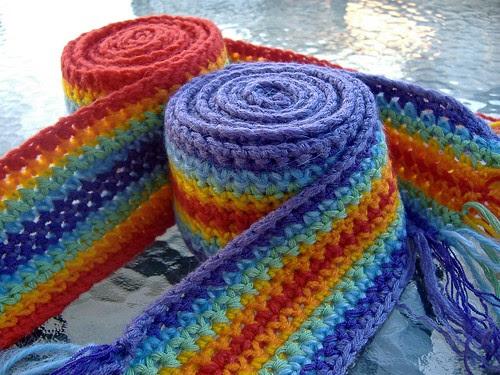 both scarfs