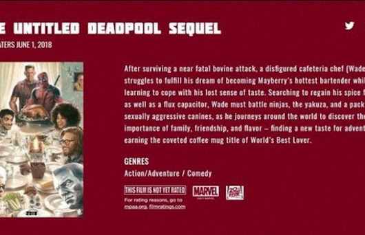 DEADPOOL 2 Gets an Interesting And Completely Unexpected Synopsis | FizX