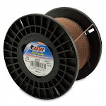 (275lb.test) - American Fishing Wire 49-Strand Cable Bare 7x7 Stainless Steel Leader Wire