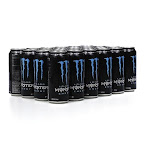 Monster Lo-Carb Energy Drink - 24 count, 16 fl oz cans