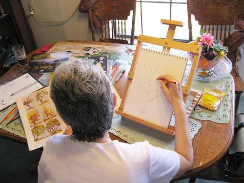 mami drawing