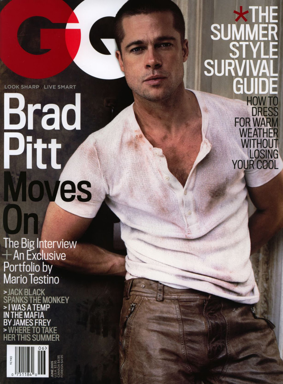 Brad Pitt Tattoos Pictures Images Pics Photos Of His Tattoos