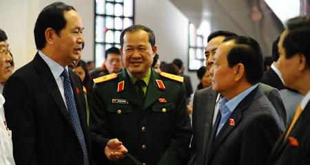bộ trưởng công an, Trần Đại Quang, bộ trưởng quốc phòng, Phùng Quang Thanh, luật Công an nhân dân, luật Sĩ quan QĐND