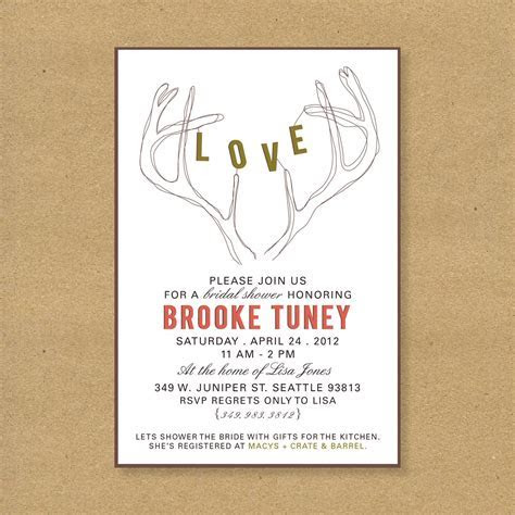 Gift Card Bridal Shower Invitation Wording : Gift Card