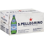 San Pellegrino Sparkling Natural Mineral Water - 24 pack, 8.45 fl oz bottles