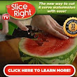 Slice Right Perfect Watermelon Slicer and Server