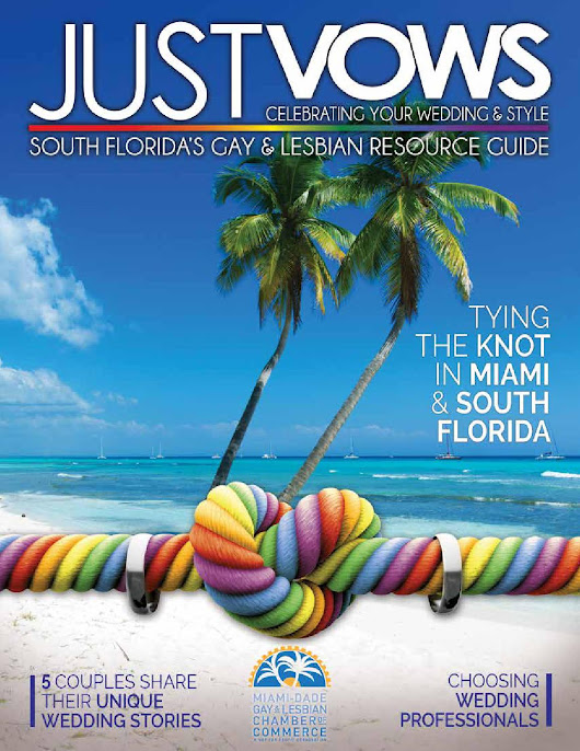 Just Vows South Florida's Gay & Lesbian Resource Guide
