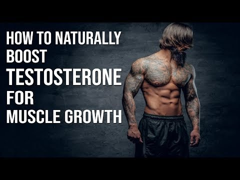 How to boost testosterone level